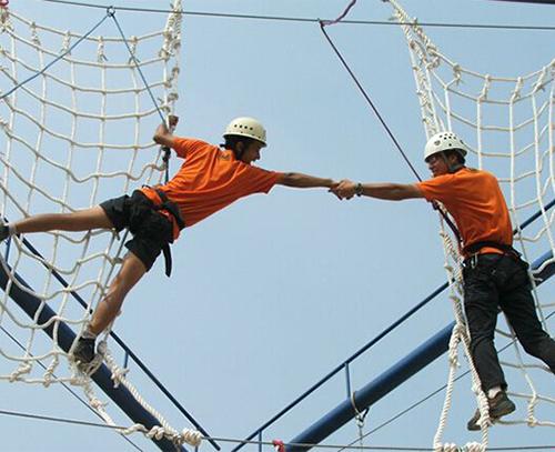 二人合力天梯